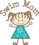 Swim Mom T-shirt Gifts