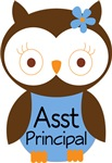 Assistant Principal Owl T-shirts