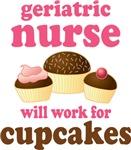 Geriatric Nurse Chocoholic Gift T-shirts