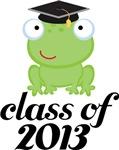 2013 Graduation Frog Gifts and Tshirts