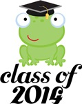 2014 Graduation Frog Gifts and Tshirts