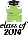 2014 Graduation Frog Gifts and Tshirts