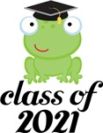2021 Graduation Frog Gifts and Tshirts