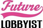 Future Lobbyist Kids Occupation T-shirts