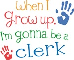 Future Clerk Kids T-shirts