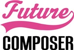 Future Composer Kids Occupation T-shirts