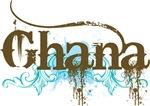 Ghana Grunge T-shirts and Hoodies