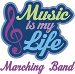 Marching Band Music Quote Tshirts