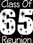 Class Of 1965 Reunion Tee Shirts
