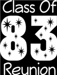 Class Of 1983 Reunion T-Shirts