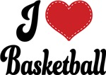 I Heart Basketball T-shirts and Gifts