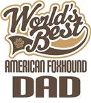 American Foxhound Dad (Worlds Best) T-shirts