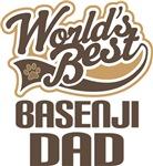Basenji Dad (Worlds Best) T-shirts