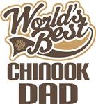 Chinook Dad (Worlds Best) T-shirts