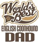 English Coonhound Dad (Worlds Best) T-shirts