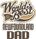 Newfoundland Dad (Worlds Best) T-shirts