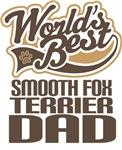 Smooth Fox Terrier Dad (Worlds Best) T-shirts