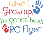 Future RC Flyer Kids T-shirts