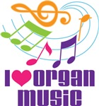 ORGAN MUSIC GIFTS AND STOCKING STUFFERS