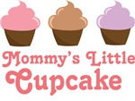 Mommy's Little Cupcake Kids Tee Shirts