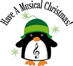 Have A Musical Christmas Penguin Gifts