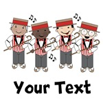 Personalized Barbershop Quartet Music Gifts