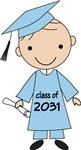 2031 School Class Grad T-shirts