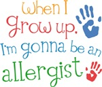 Future Allergist Kids T-shirts
