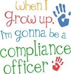 Future Compliance Officer Kids T-shirts