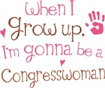 Future Congresswoman Kids T-shirts