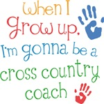 Future Cross Country Coach Kids T-shirts