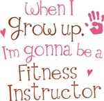 Future Fitness Instructor Kids T-shirts