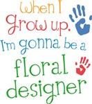 Future Floral Designer Kids T-shirts