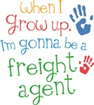 Future Freight Agent Kids T-shirts