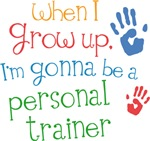 Future Personal Trainer Kids T-shirts