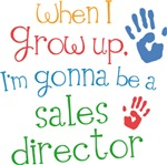 Future Sales Director Kids T-shirts
