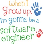 Future Software Engineer Kids T-shirts