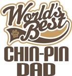 Chin-Pin Dad (Worlds Best) T-shirts