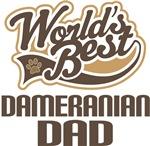 Dameranian Dad (Worlds Best) T-shirts