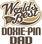 Doxie-Pin Dad (Worlds Best) T-shirts