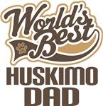 Huskimo Dad (Worlds Best) T-shirts