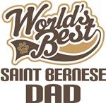 Saint Bernese Dad (Worlds Best) T-shirts