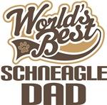 Schneagle Dad (Worlds Best) T-shirts