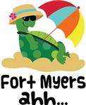 Fort Myers Florida Turtle Tshirts