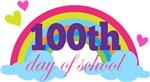 100th Day Of School rainbow tee shirts