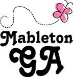 Mableton Georgia Butterfly T-shirts and Hoodies