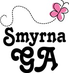 Smyrna Georgia Butterfly T-shirts