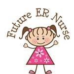 Future ER Nurse Kids T shirts