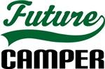Future Camper Kids T Shirts