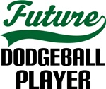 Future Dodgeball Player Kids T Shirts